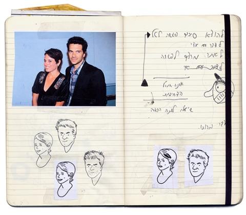 Illustrators sketchbooks