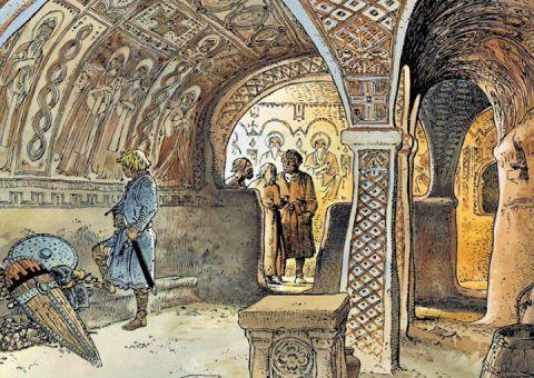 freski bizantyjskie