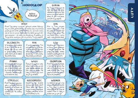 Adventure Time kalendarz 2016