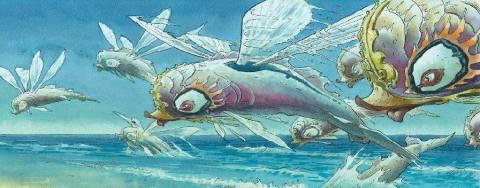 latajaca ryba