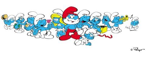 the smurfs peyo